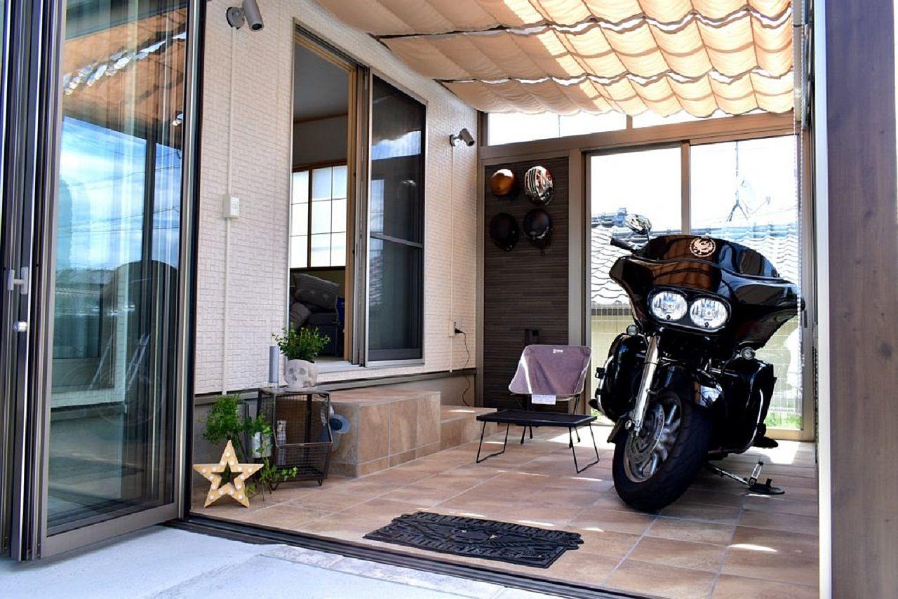 菊池の日日是好日 №30「バイク置場」