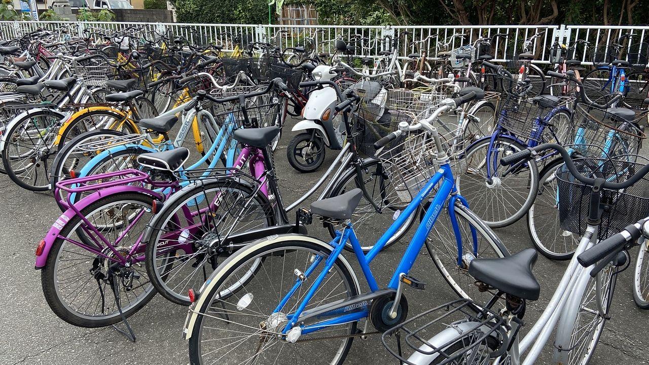無断駐輪・迷惑駐輪・放置自転車