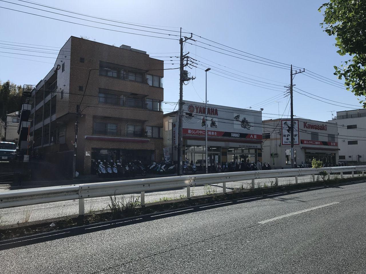 野川?いや、宮前区?いやいや、川崎市でNo,1のバイク屋「山儀(ヤマギ)」