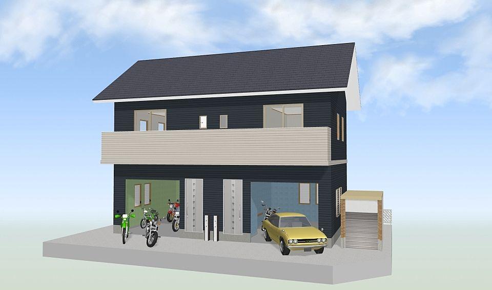 ガレージハウスを企画しました! その1