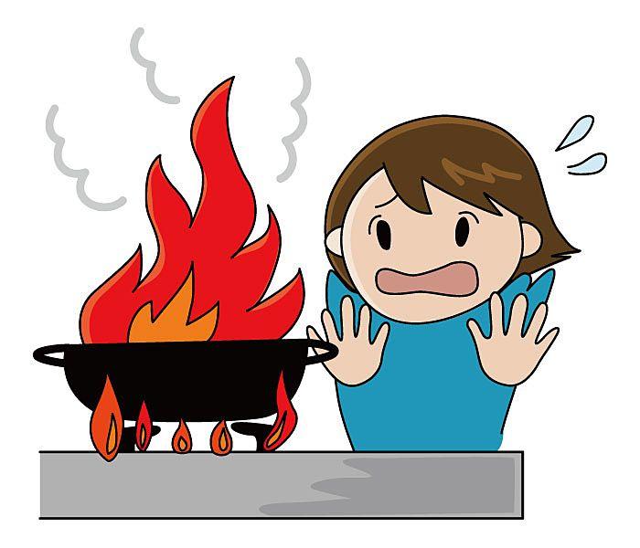 火災の出火原因№1は、コンロ⁉