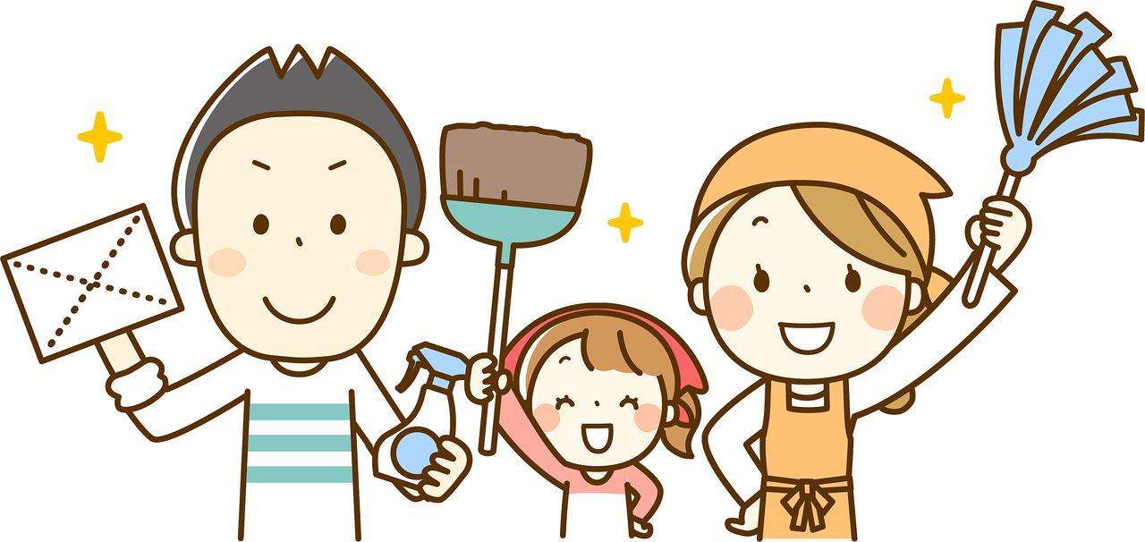 賃貸住宅では特に年末の大掃除をおススメします