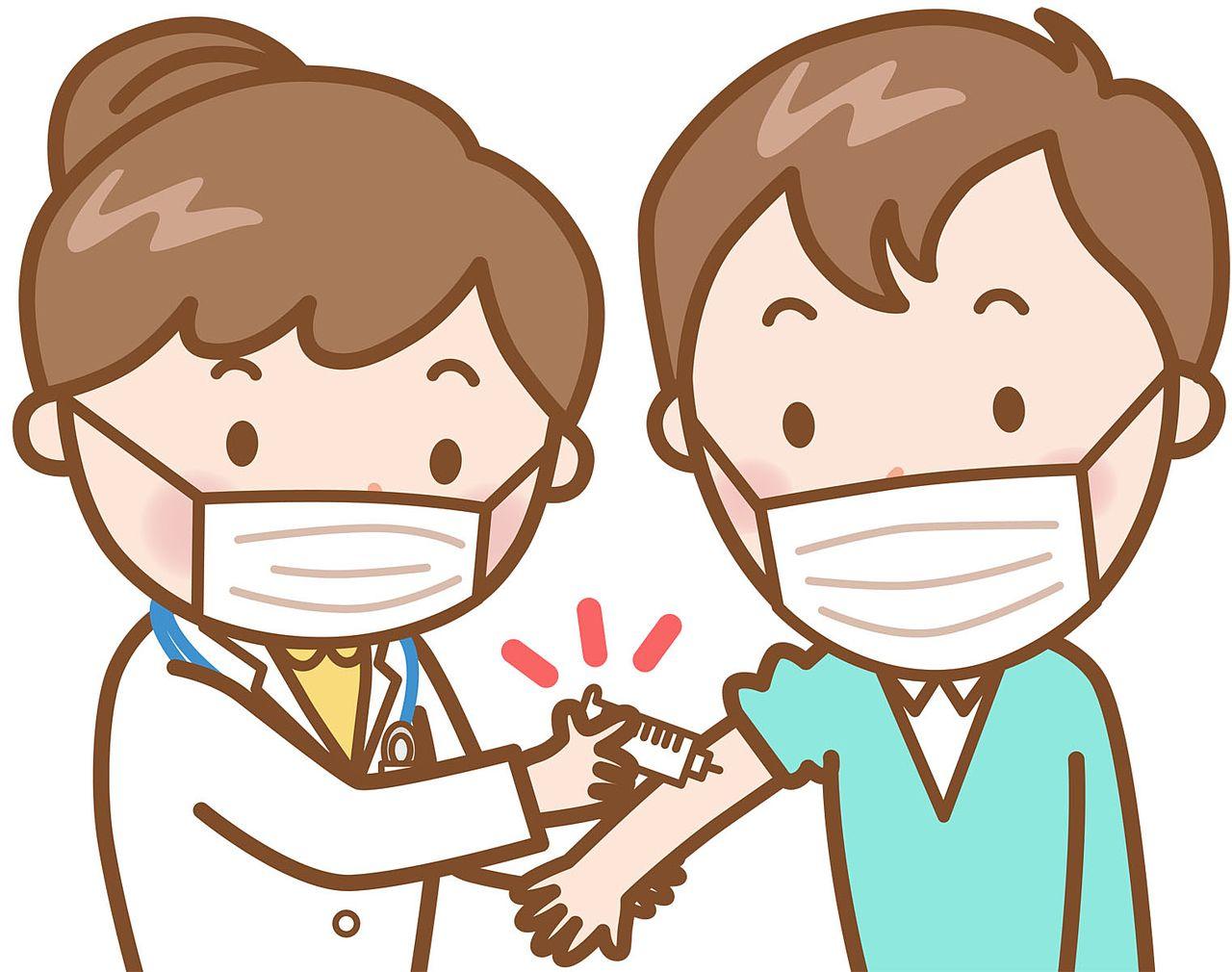 コロナワクチン2回接種完了!